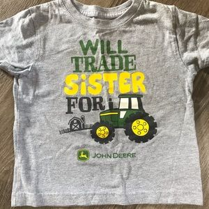 ***3 for $10*** John Deere T-shirt size 2T